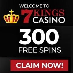 7Kings Casino FS banner 250x250