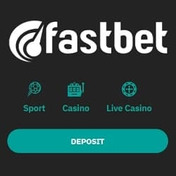 FASTBET Casino 50 free spins bonus when you log in and deposit