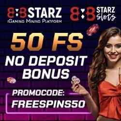 50 free spins bonus code