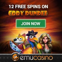 Eddy Dundee Free Spins