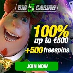 No Deposit Bonus - 5 Free Spins Bonus