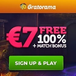 Get €/£/$7 FREE and 100% bonus on deposit!