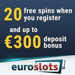 Euroslots 20 free spins