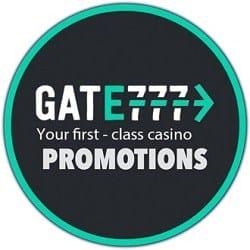Gate777.com Promotions: 1000 free spins + €1,000 free bonus
