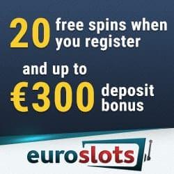 EuroSlots Casino 20 no deposit free spins bonus code
