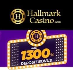 Hallmark 1300% Welcome Bonus