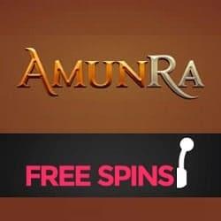 AmunRa Casino free bonus banner