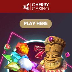Cherry Casino 20 free spins no deposit bonus on registration
