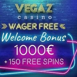 Vegaz free spins bonus no deposit required