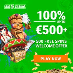 100% free bonus and 500 free spins