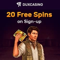 Dux 20 free spins