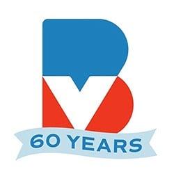 Burgerville 60 years logo