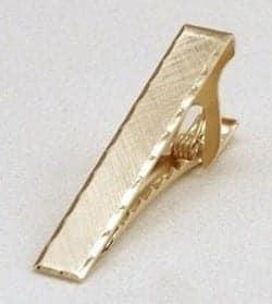 Tateossian Zen Garden Gunmetal Tie Clip