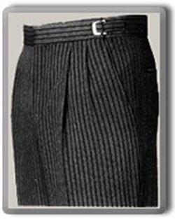 Dress Pants Slim Fit Gray Microfiber Wool Feel Dress Slacks
