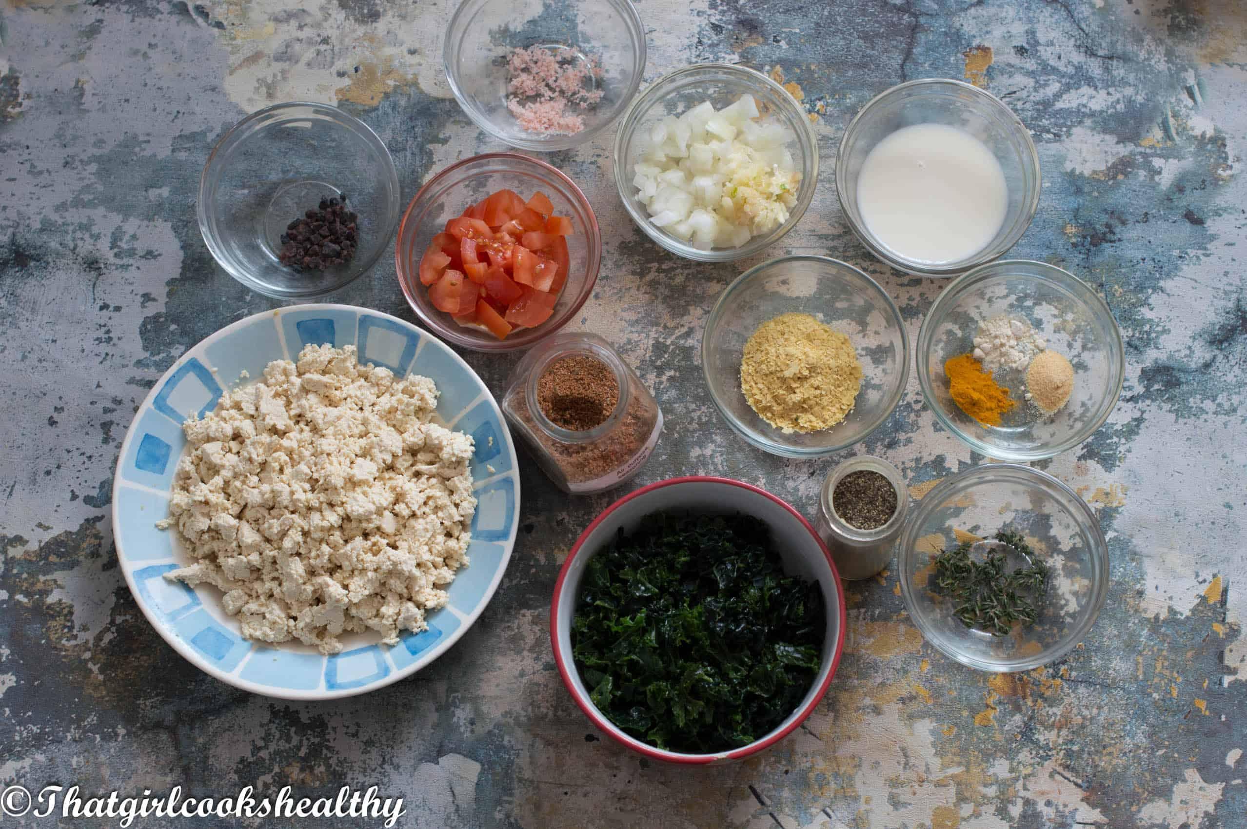 Ingredients you need