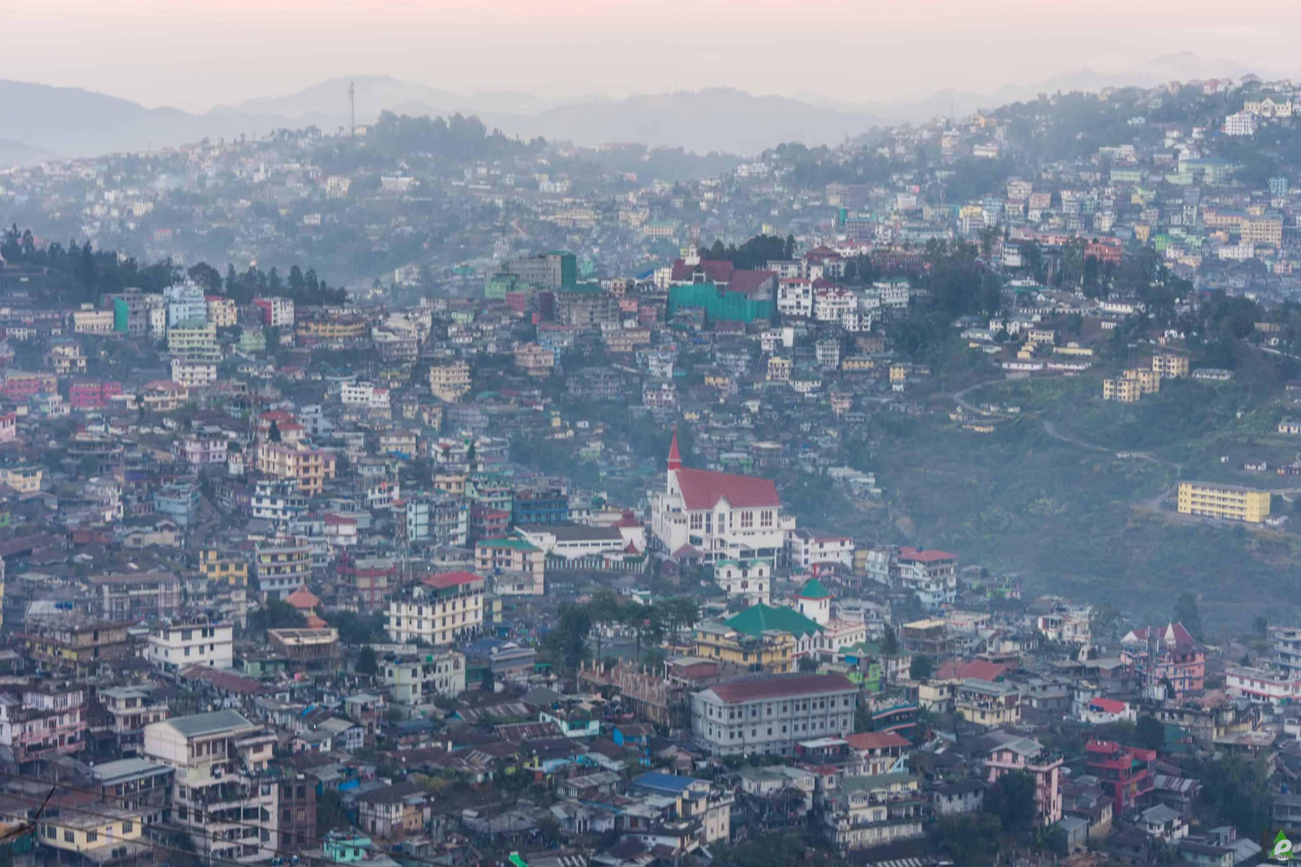 kohima town view