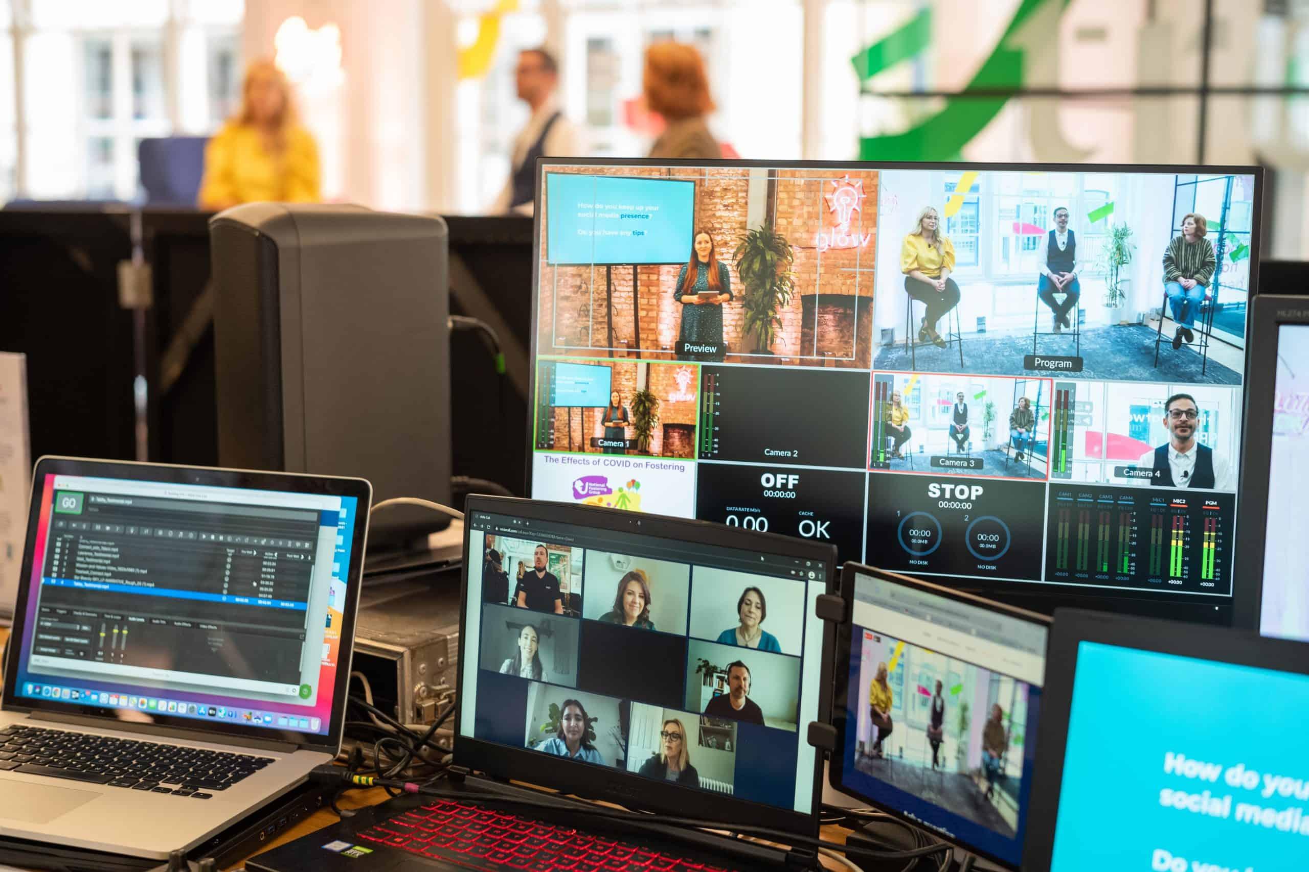 Treatwell Connect Look Forward 2021 Eventify Hybrid event AV tech