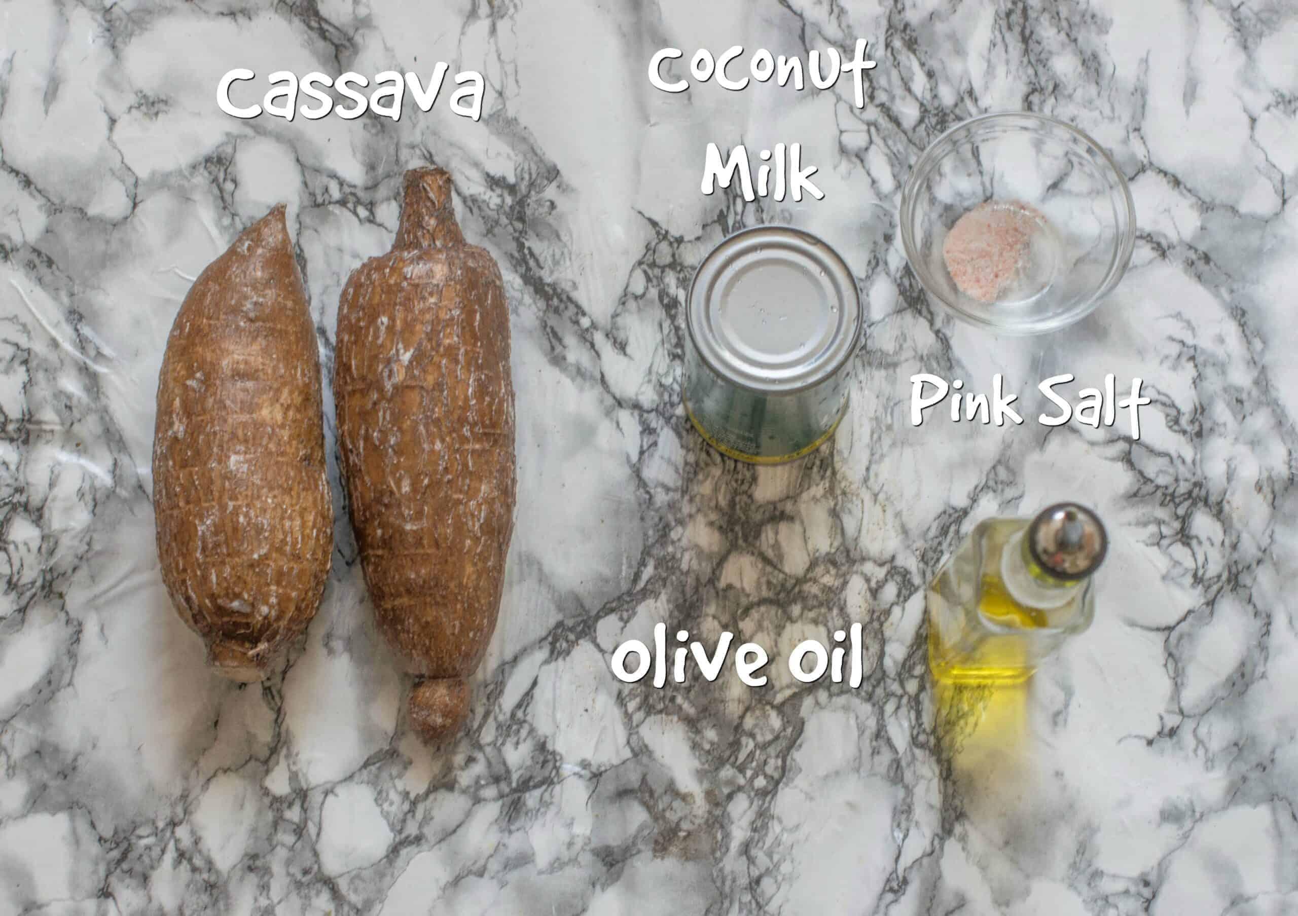 ingredients to make bammy