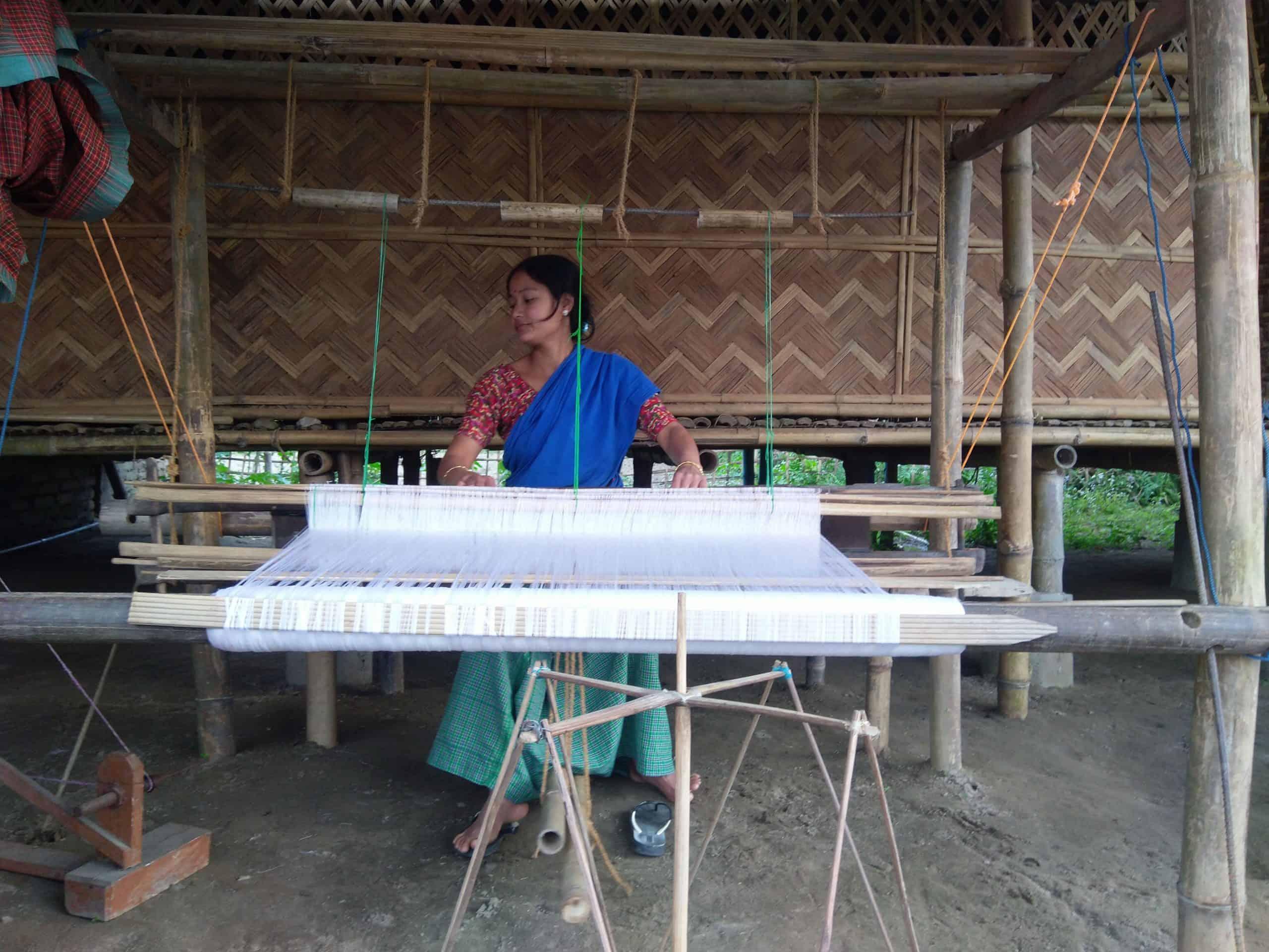 majuli weaver's village