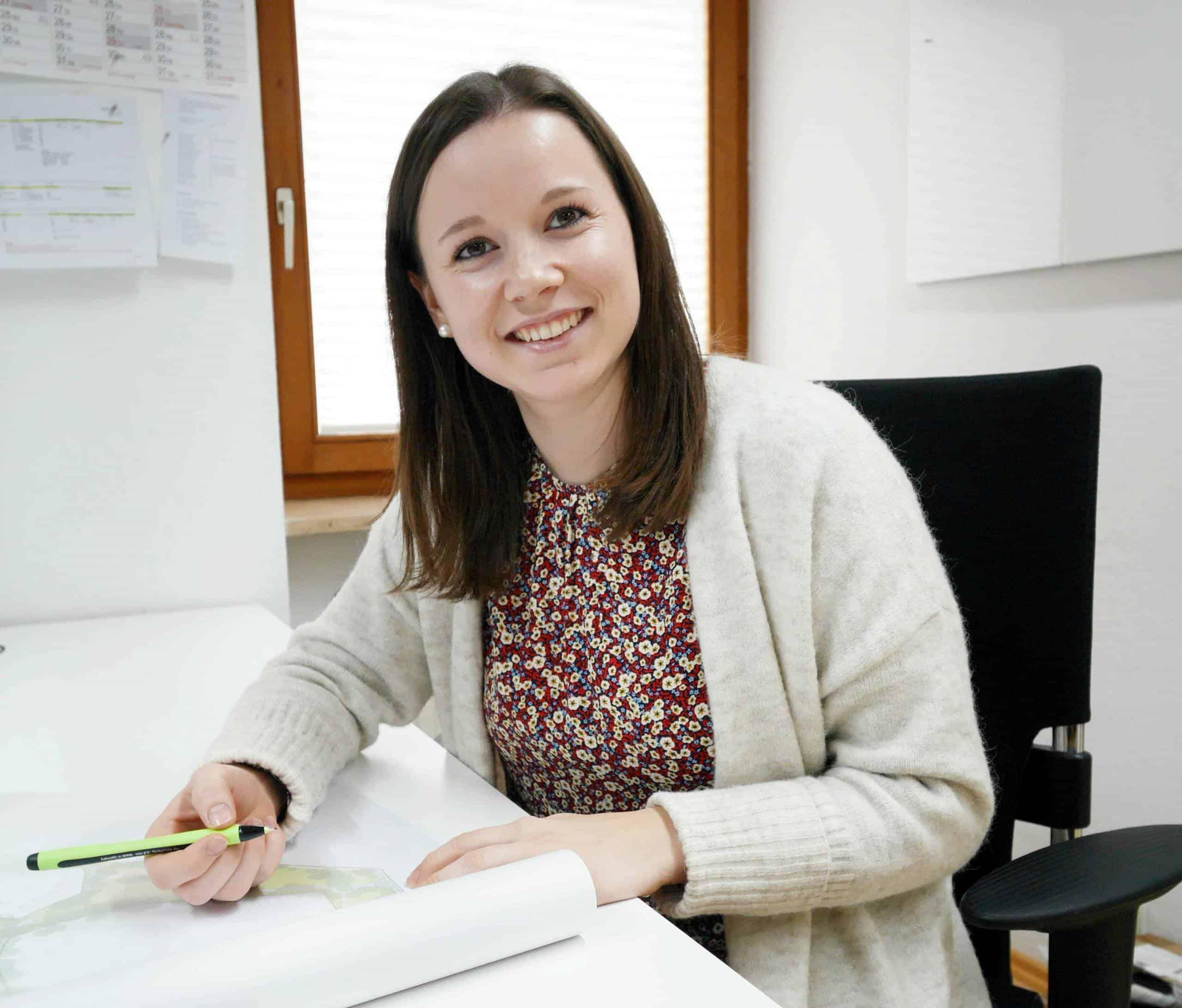 Bild: neue Kollegin Theresia Krimmer, foto: ver.de landschaftsarchitektur