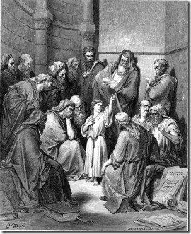 Jesus with the Rabbis in the Temple