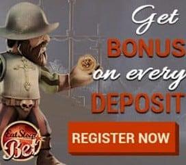 EatSleepBet Casino 10 free spins and €600 free bonus