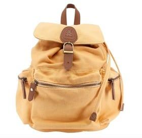 Sebra ryggsäck gul