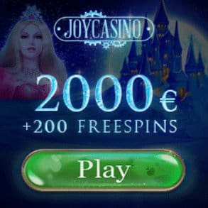 Joy Casino   200 free spins + 425% bonus up to $2000   Instant payments!