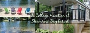 Cottage vacation, cottage vacation rental, cottage vacation rentals, shamrock bay, shamrock bay resort, shamrock bay resort rentals