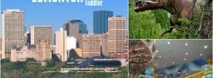 visiting edmonton with a toddler, edmonton with a toddler, edmonton with a baby