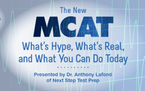 Tips for the new MCAT