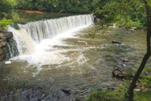 Va. Dam with Ties to Dave Matthews Band Refitted for Fish Passage