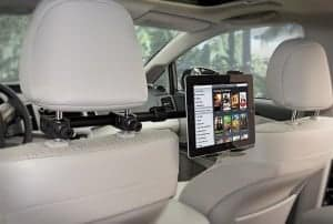 ipad car mount, tablet headrest mount, best headrest mount, mount ipad in car