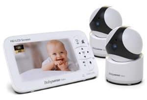 """Babysense 5"""" HD Display Baby Video Monitor"""