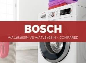 Bosch WAJ2846sin vs WAT2846sin - Review & Comparison