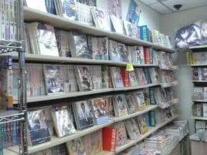 light novel bookstore