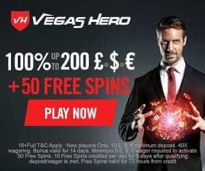 $/€/£1000 bonus + 50 free spins   Review