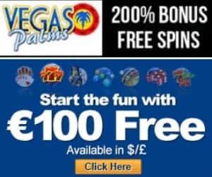 Vegas Palms free spins