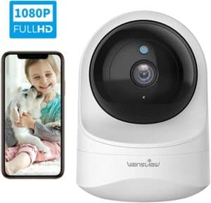 Wansview 1080 PHD Wireless Security Baby Monitor