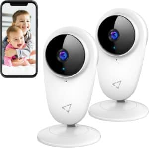 Victure 2 Pcs Baby Wifi Monitor
