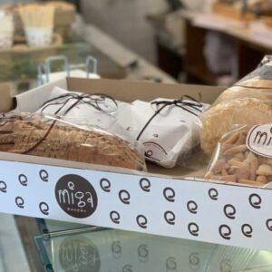 Miga Bakery Caja a domicilio