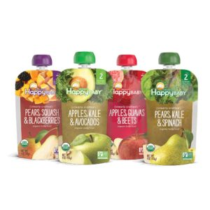 Happy Baby Organic Stage 2 Variety Pack