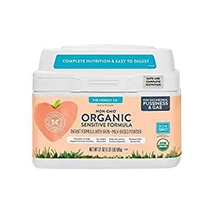 The Honest Company Organic Non-GMO Sensitive Infant Formula