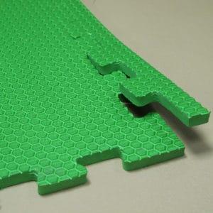 Мягкий пол универсальный. Зеленый.