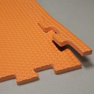 Мягкий пол универсальный. Оранжевый.