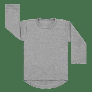 Longsleeve basic grijs