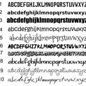Strijkapplicatie eigen teksten