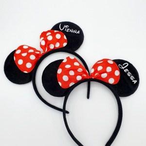Minnie Mouse diadeem met naam