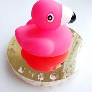 Badspeeltje flamingo