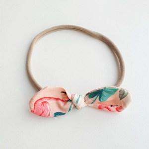Haarband stoffen strik tropical flamingo